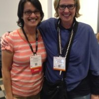Princy Quadros Mennella and Brene Brown meet at the ATD International Conference  & Expo